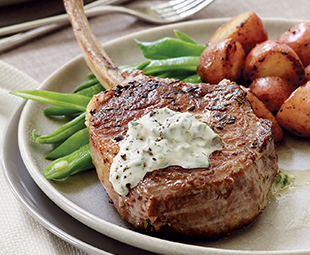 Pan-Roasted Veal Chops