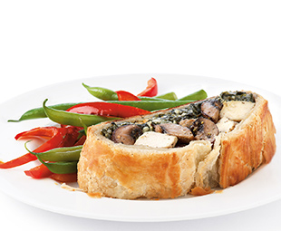 Chicken Wellington with Mushrooms & Spinach