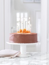 Orange, Icewine & Chocolate Layer Cake