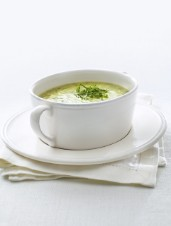 Cream of Potato Soup with Watercress