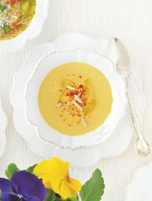 Yellow Pepper & Almond Soup
