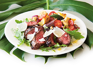 Grilled Hanger Steak from Parma
