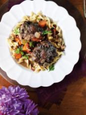 Rosemary & Wine-Braised Oxtails