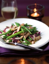 Shredded Pork Shoulder Roast & Green Bean Salad