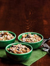 Pearl Barley Orzotto with Wild Mushrooms
