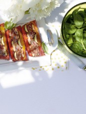 Vegetable Terrine with Grilled Vegetables