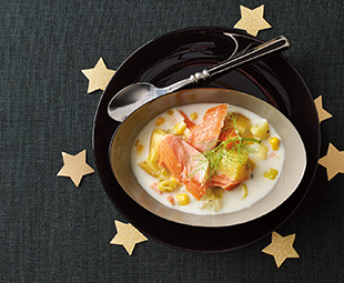 Smoked Trout & Fennel Chowder