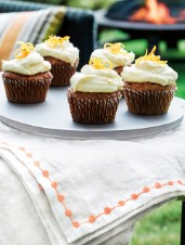 Olive Oil Carrot Cupcakes