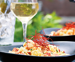 Oven-Baked Lobster Risotto