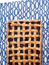 Sweet Cherry & Blackberry Lattice Pie