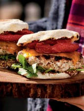 Turkey Brunch Burgers