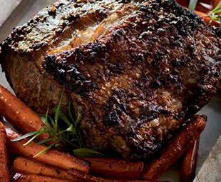 New York Sirloin Roast with Pinot & Marrow Sauce