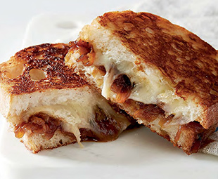 Grilled Cheese Panini with Amaro Onions