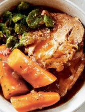 Cider & Dark-Lager-Braised Pork Pot Roast