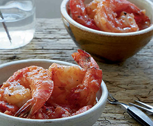 Sizzling Shrimp Cocktail