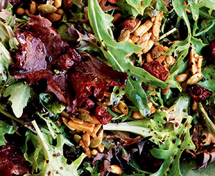 Tossed Salad with Harvest Nuts & Cranberries
