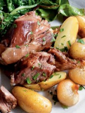 Fragrant Slow-Braised Lamb Shoulder with Fingerling Potatoes