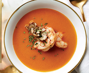 Shrimp Coconut Bisque