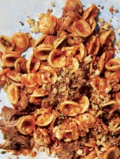Orecchiette with Curried Lamb Ragù
