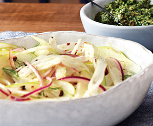 Fennel & Apple Slaw