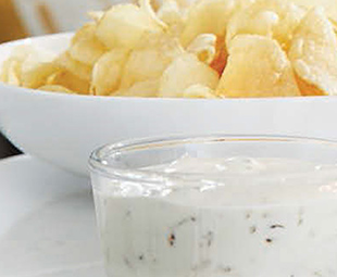 French Onion Dip & Kettle Chips