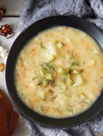 RECIPE - Dill Pickle Potato Soup
