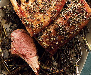 Lamb on a Bed of Herbs
