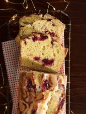 Dairy-Free Cranberry Swirl Loaf