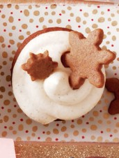 Gingerbread Cupcakes with Brown-Butter Cream-Cheese Icing