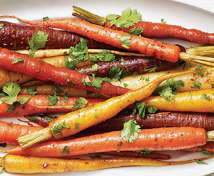 Cumin-Roasted Carrots with White Wine Glaze