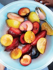 Spiced Plum Salad