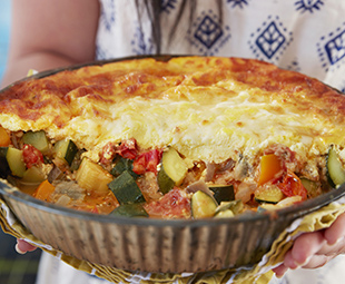 Cheese-Topped Summer Ratatouille