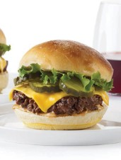 Smash Burgers with Cheese, Pickles and Special Sauce