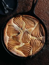Pear and Cinnamon Skillet Cake