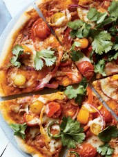 Easy Indian Pizza