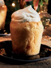 Rum Baba with Banana Cream
