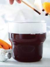 Flamed Mulled Wine