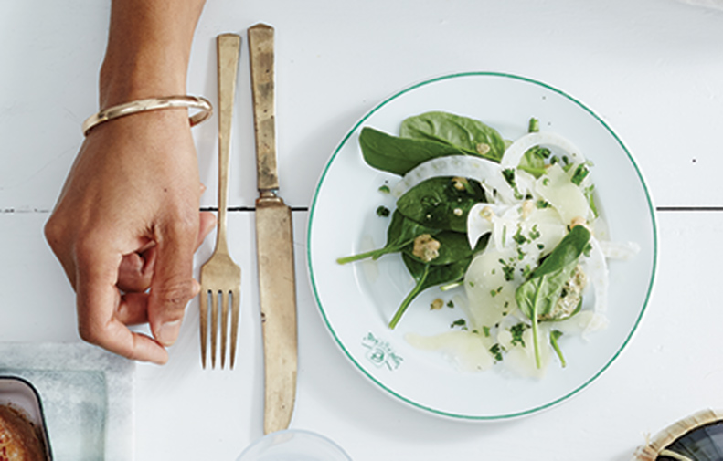 Shaved Fennel with Ricotta Salata