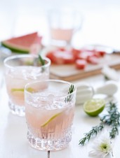 Pink Gin & Tonic with Rosemary