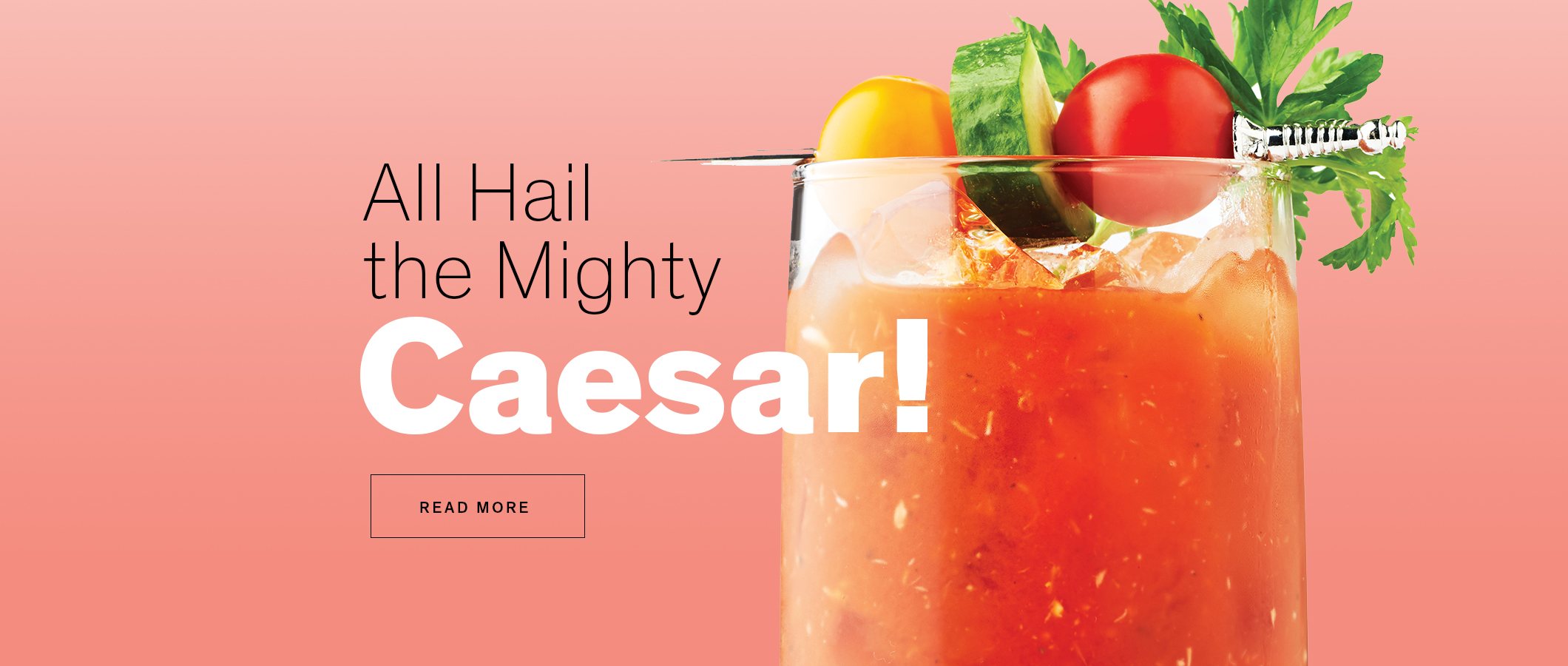 All Hail the Mighty Caesar!  READ MORE