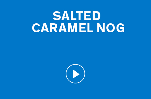 Salted Caramel Nog
