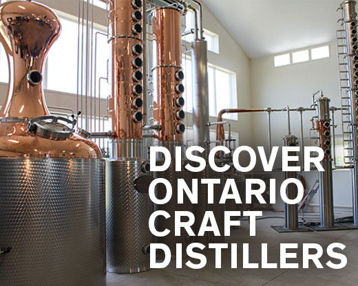 DISCOVER ONTARIO CRAFT DISTILLERS
