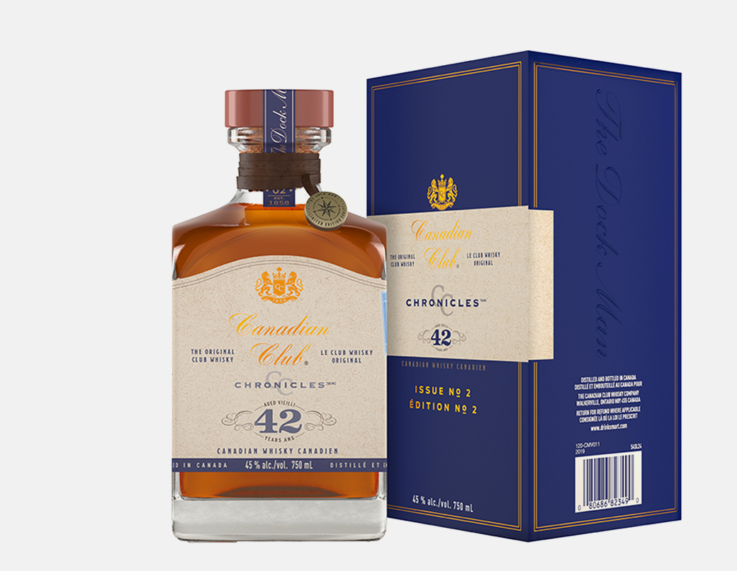 Canadian Club 42 Year Old