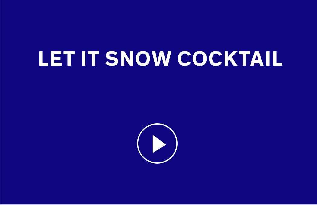 Let It Snow Cocktail