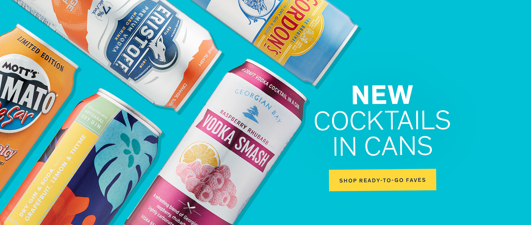 New Cockails in Cans
