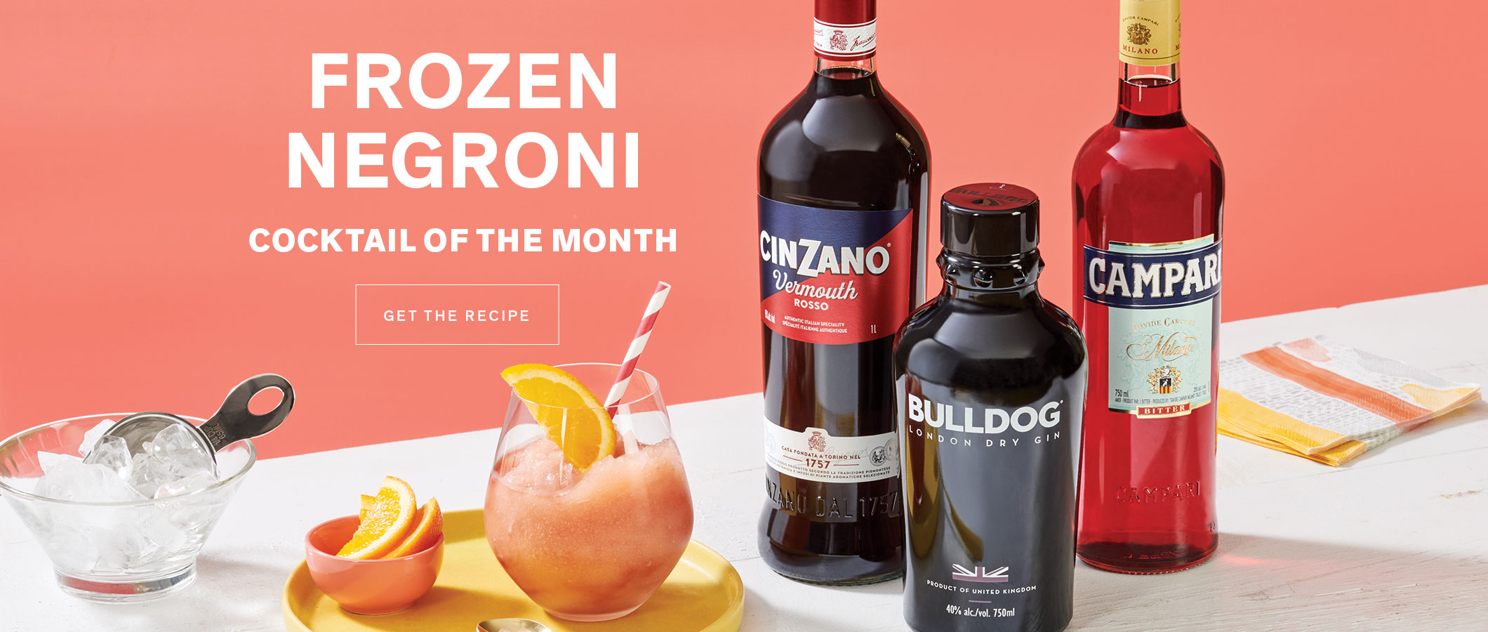 Cocktail of the Month: Frozen Negroni