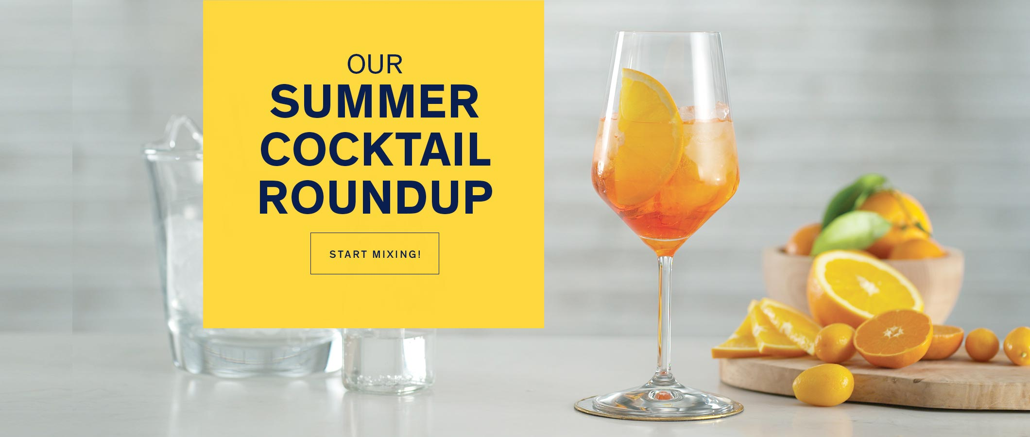 Our Summer Cocktail Roundup