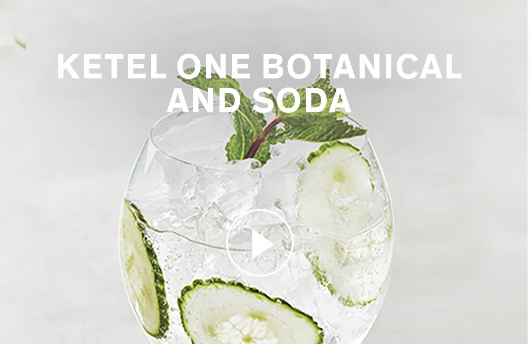 Ketel One Botanical and Soda