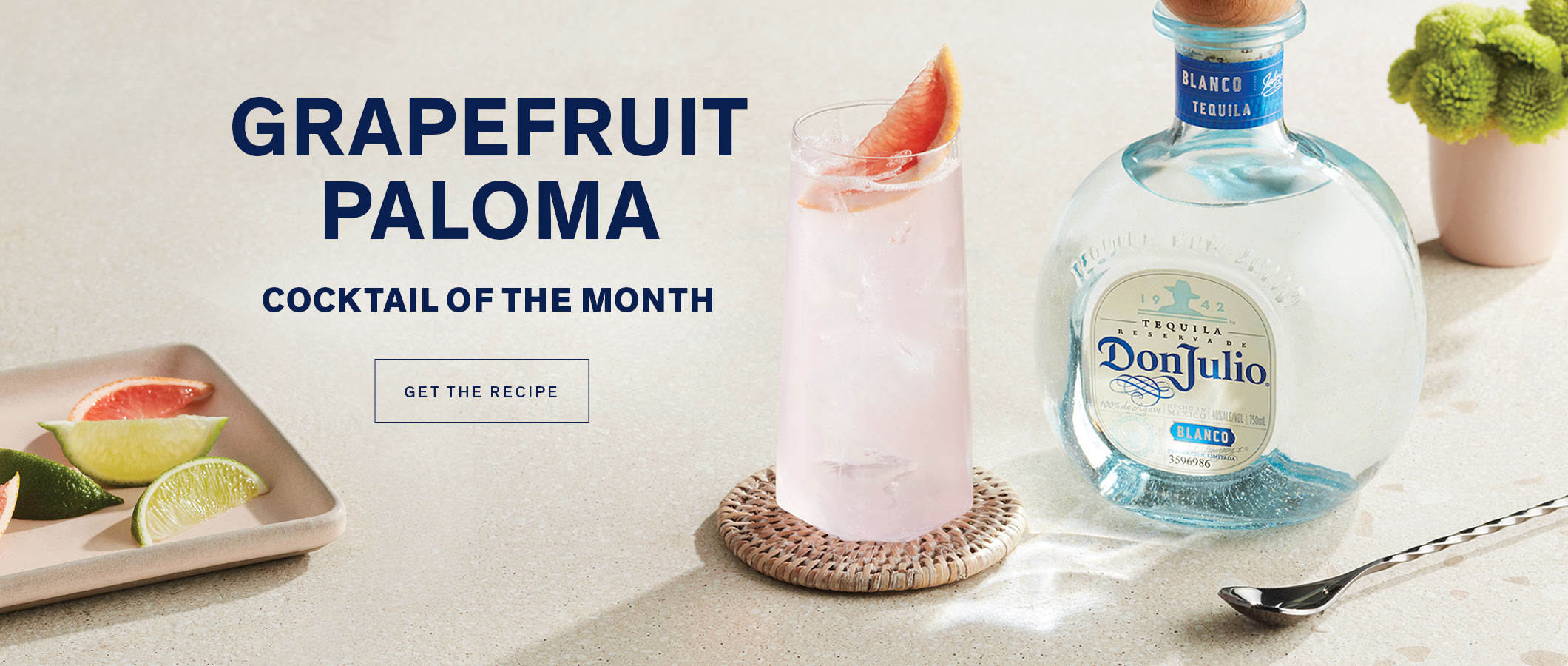Cocktail of the Month  Grapefruit Paloma