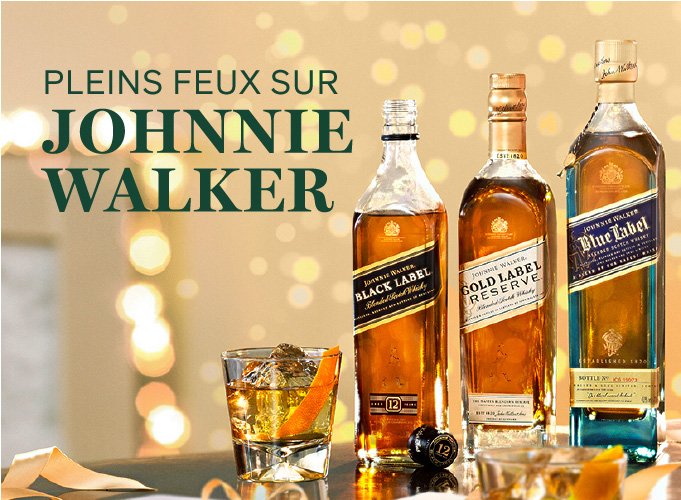 Pleins feux sur Johnnie Walker